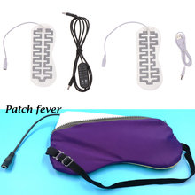 1PC Electric Infrared Fever 5V~6V Carbon Fiber Heating Pad USB Heating Film Hand Warmer For Winter Outdoor Camping Accessories(China)