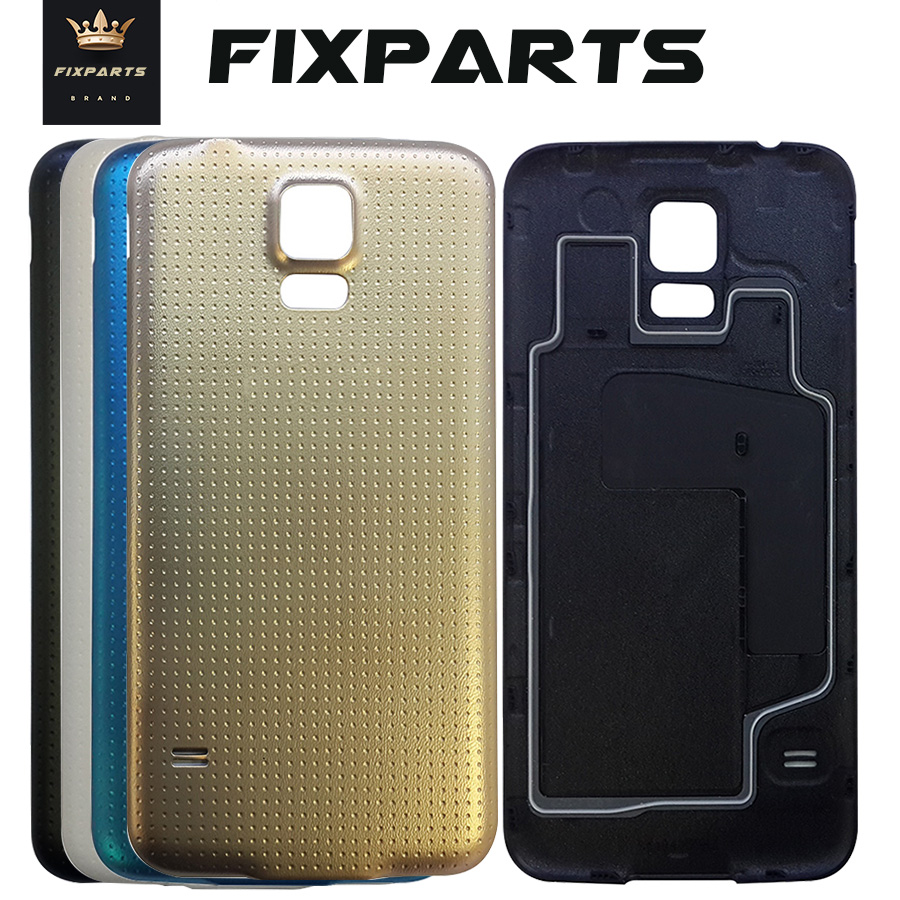 S5 / S5 Mini Cover For Samsung Galaxy S5 I9600 G900 Back Battery Door Rear Housing Cover Case For Samsung S5 Mini Battery Cover
