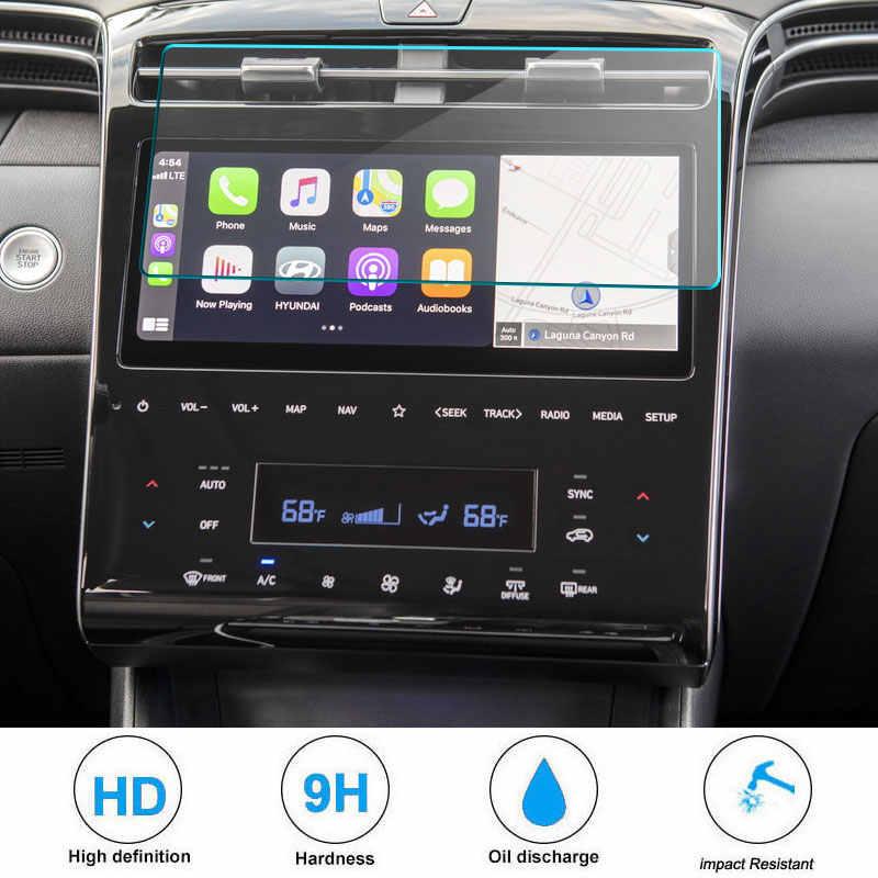 ПЭТ-пленка Экран протектор для Tucson NX4 otali.ru 10 дюймов Автомобильный навигатор Экран дисплея Экран авто интерьер защищает наклейки автомобильные аксессуары