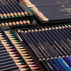 72 لون اللازورد دي كور المهنية المياه قلم رصاص ملون s مجموعة الرسم أقلام ملونة اللازورد دي رسم المياه للذوبان قلم رصاص ملون