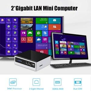 Image 2 - XCY Mini Pc Intel Core i5 4200U Linux Thin Client Micro Desktop Computers Best Industrial Komputer Win 10 7 Minipc 2 Lan Port TV