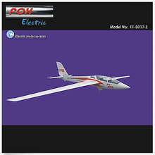 FOX Электрический планер 3000 мм комплект с мотором Кок воздушного винта RC стеклопластиковый самолет