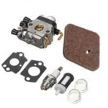 Carburetor Air Filter Washer Bulb Kit For Stihl FS45 FS46 FS46C FS55R Accessory запчасти для триммера