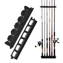 Booms Fishing WV2 Вертикальная 6-Rod стойка для удочки держатель для удочки настенный модульный держатель для гаража