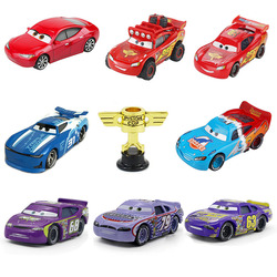 Disney Pixar Cars 2 3 Lightning McQueen Racers Roll No 31 1:55 Diecast Vehicle Hot Toys Gift Present for Boys