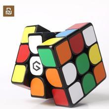 Youpin cubo magnético Giiker M3 3x3x3, cubo mágico cuadrado de Color vivo, rompecabezas de ciencia, educación, trabajo con aplicación Giiker