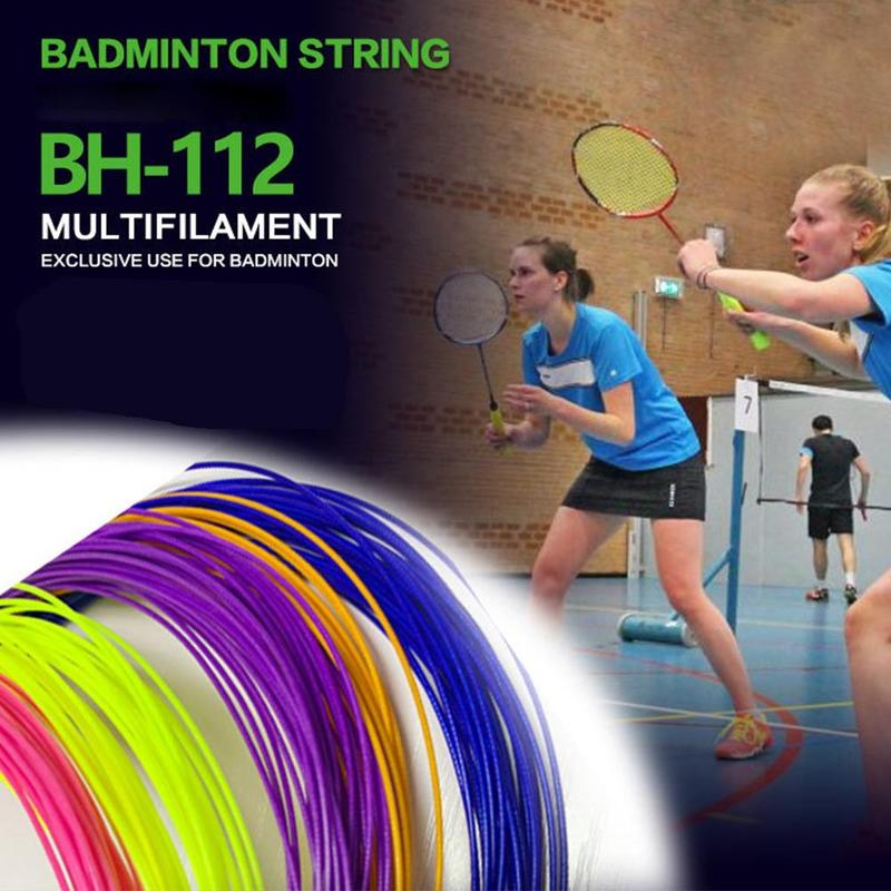 1 Pcs Badminton Racket Line High Elastic Badminton Line Resistance Training Competition Special Feather String