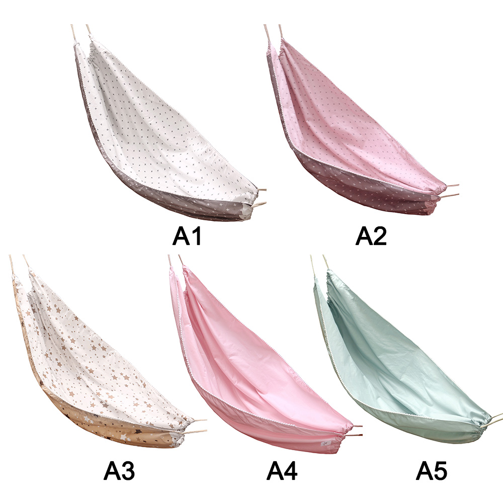 H86e74cda5fef46eca880c6241f7eea586 Baby Cotton Hammock Swing for Crib Cot Removable Baby Rocking Chair Sleeping Bed Indoor Outdoor Adjustable Hanging Basket