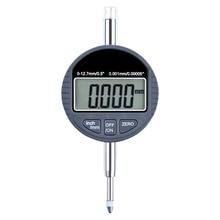 """Измерительный метрический 0,001 мм ЖК-индикатор Высокая точность инструмент Электронный микрометр дюймовый Манометр цифровой 0,0000"""" диапазон 0-12,7 мм"""
