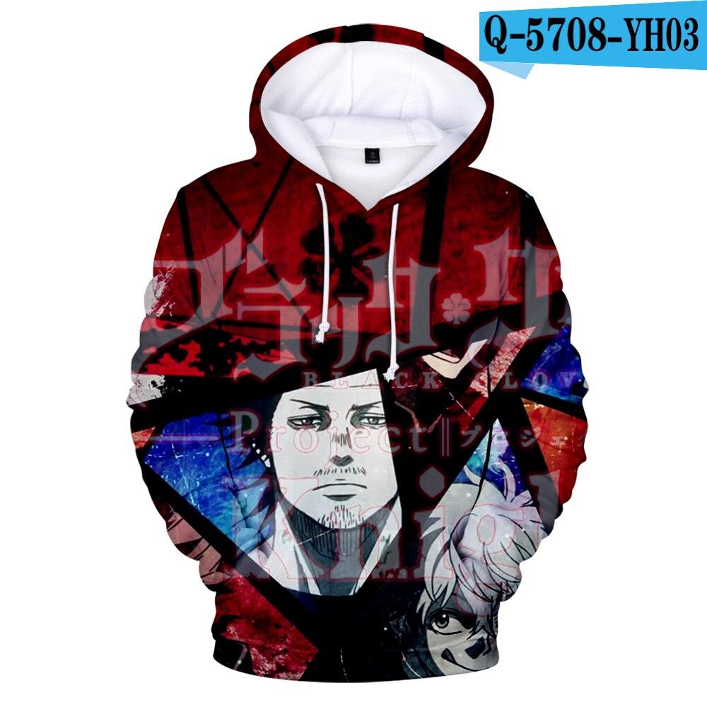 hot Selling Black Clover High School Cosplay Sweatshirt Sweater