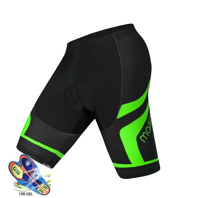 Pro Shorts de cyclisme hommes 19D anti-dérapant rembourré Gel vélo vtt Shorts vélo de montagne classique antichoc pantalons courts Ropa Ciclismo