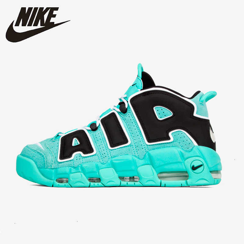 Nike Air plus Uptempo 96 hommes basket-ball chaussures coussin d'air Panda Mandarin canard Sports de plein Air baskets Air Max #921948
