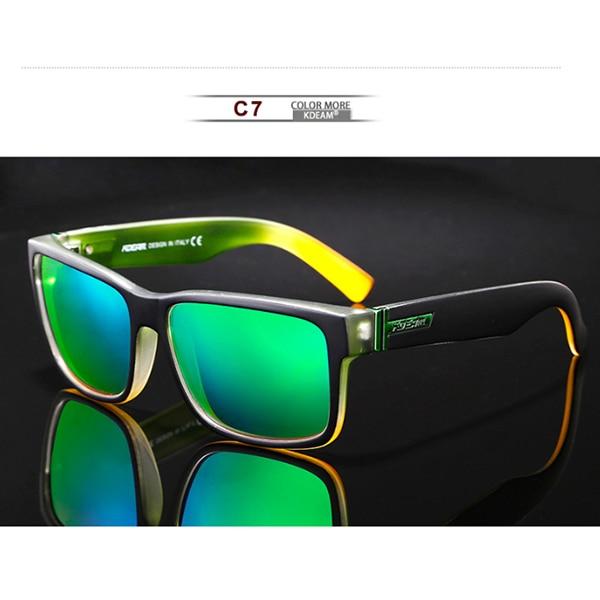 C7 Green Mirror