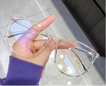 Blue Light Blocking Glasses 2020 Women Oversized Eyeglasses Anti Blue Light Computer Glasses Men Safety Eyewear Spectacle 2