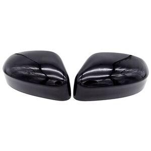 Image 2 - 1 пара левое и правое зеркало заднего вида крышка боковое зеркало оболочка аксессуары для Ford Focus 2012 2013 2014 2015 2016 автомобильный Стайлинг