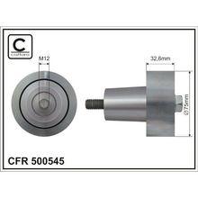 Ролик п/клин. ремня DAF 13 caffaro 500545