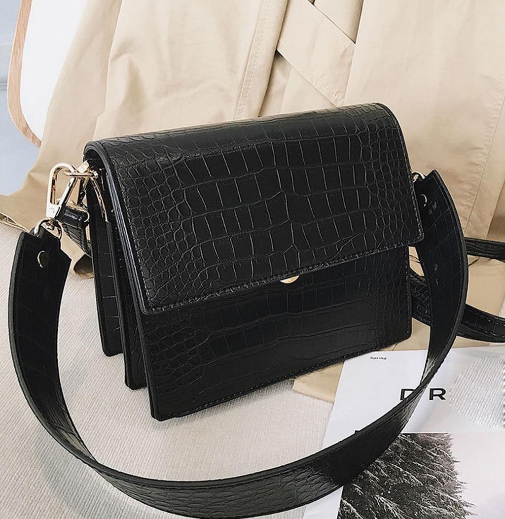 Большие винтажные женские сумки через плечо 40 # из искусственной кожи в стиле ретро, сумки-мессенджеры для девушек, дамская сумка через плеч...