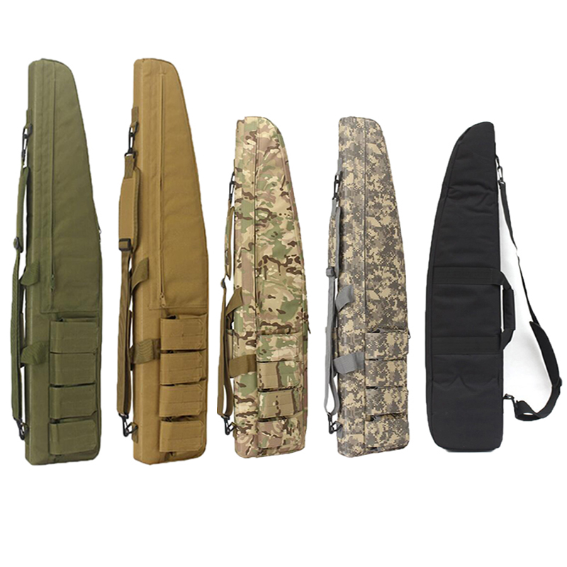 Airsoft Tactical 100CM 120CM Heavy Gun slip Bevel Carry Bag Rifle Case shoulder pouch Hunting Backpack Bags for Hunting Outdoor