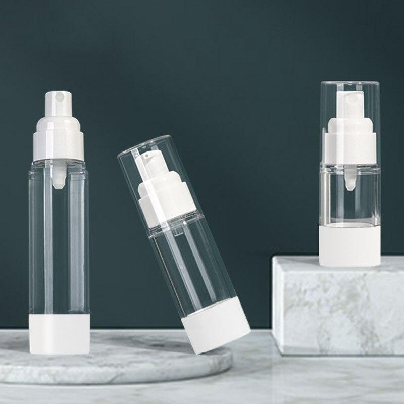 Transparent Press Spray Bottle Cosmetic Sub-Bottling Lotion Empty Bottle Soap Dispenser Airless Bottle Plastic Spray Bottles