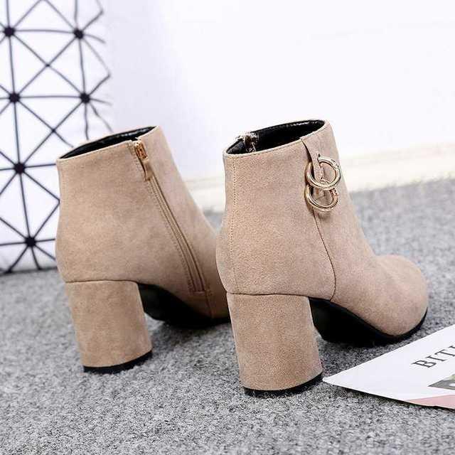 Chelsea Boots Women Elastic Ankle