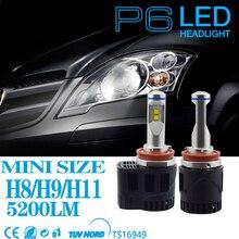 все цены на 2PCS D1S LED Bulb Car Headlight D2 D3 D4 9012 5202  D1S 55W 5200Lm Same Size as Original Bulb Plug Play 3000K 4000K d1s led bulb онлайн