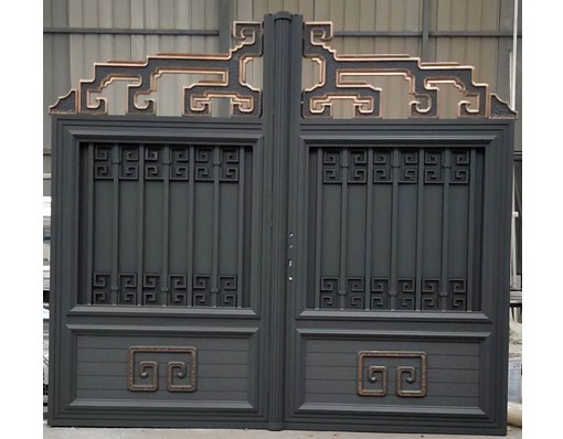 Fancy Automatic Opening Metal Sliding Gate Design For Garden Gate Compound Gate