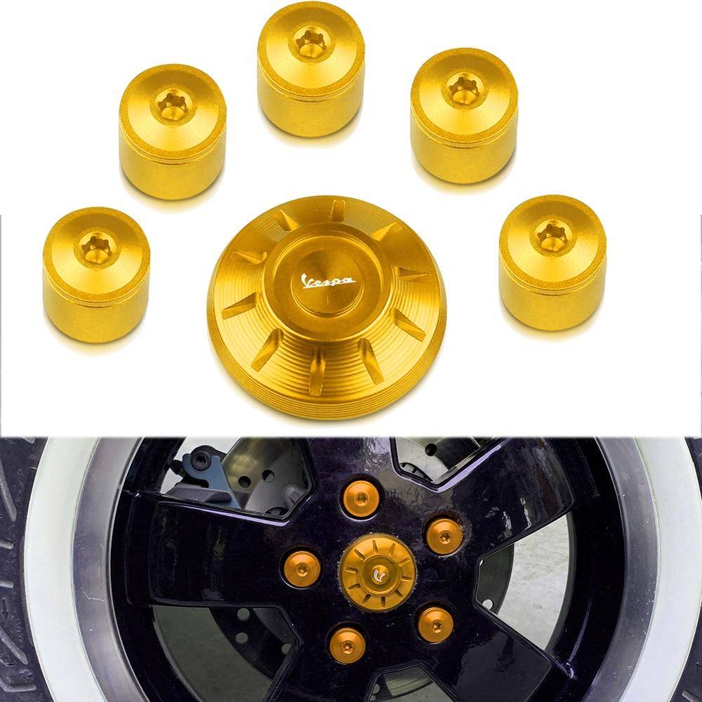 Tubcaps tampas laterais da roda carenagem quadro buraco cobre plug parafusos para piaggio vespa gts sprint primavera lx lxv 50 125 250 300 gts