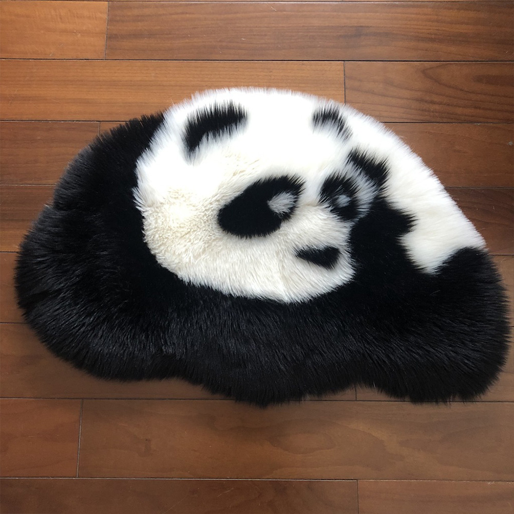 Floor-Mat Smooth-Decoration Bedroom Play Cute-Accessories Panda Living-Room Soft Kids