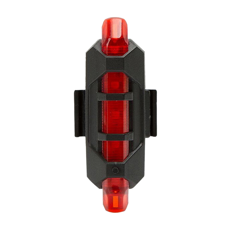 Red Bike Tail Light Rechargeable Usb Led Taillight Mtb Warning Bicycle Front Rear Light Bicycle Lamp Flash Light