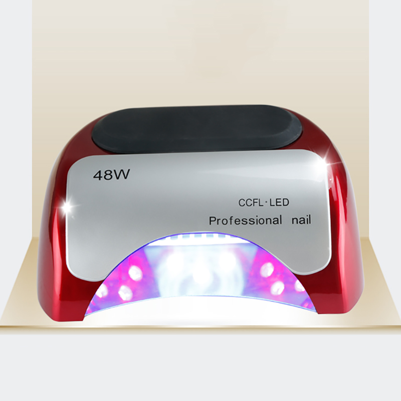 Newest Top Sale UV Dryer 48W Powerful LED Double Wavelength Nail Lamp Manufacturer