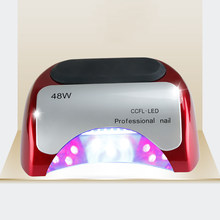 Nieuwste Top Verkoop UV Droger 48W Krachtige LED Dubbele Golflengte Nail Lamp Fabrikant(China)