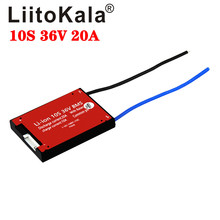 Battery-Pack BMS Liitokala Balance-Function 36V 20A with Continuous Used-For