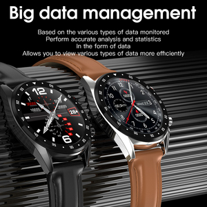 Image 3 - L7 L8 Bluetooth Smart Watch For Men Ecg+Ppg Hrv Heart Rate Blood Pressure Monitor Ip68 Waterproof Smartwatch Android Ios