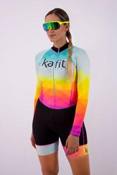 2020 ciclismo pro-kafitt terno triathlon sexy collants bicicleta moletom manga longa ciclismo terno mulher macaco terno 9d gel 1