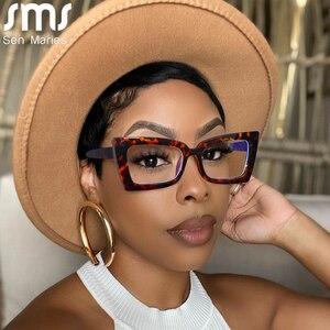 Vintage Cat Eye Optical Glasses Women Men Clear Glasses Eyeglasses Frame Anti Blue Light Transparent Lens Spectacle Frame Unisex
