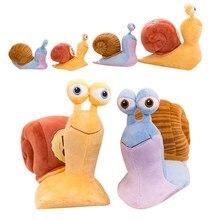 21 см мультфильм 3D CuteTurbo плюшевая игрушка мягкие игрушки животные крутая турбо скорость плюшевая улитка игрушки для детей подарок на день ро...