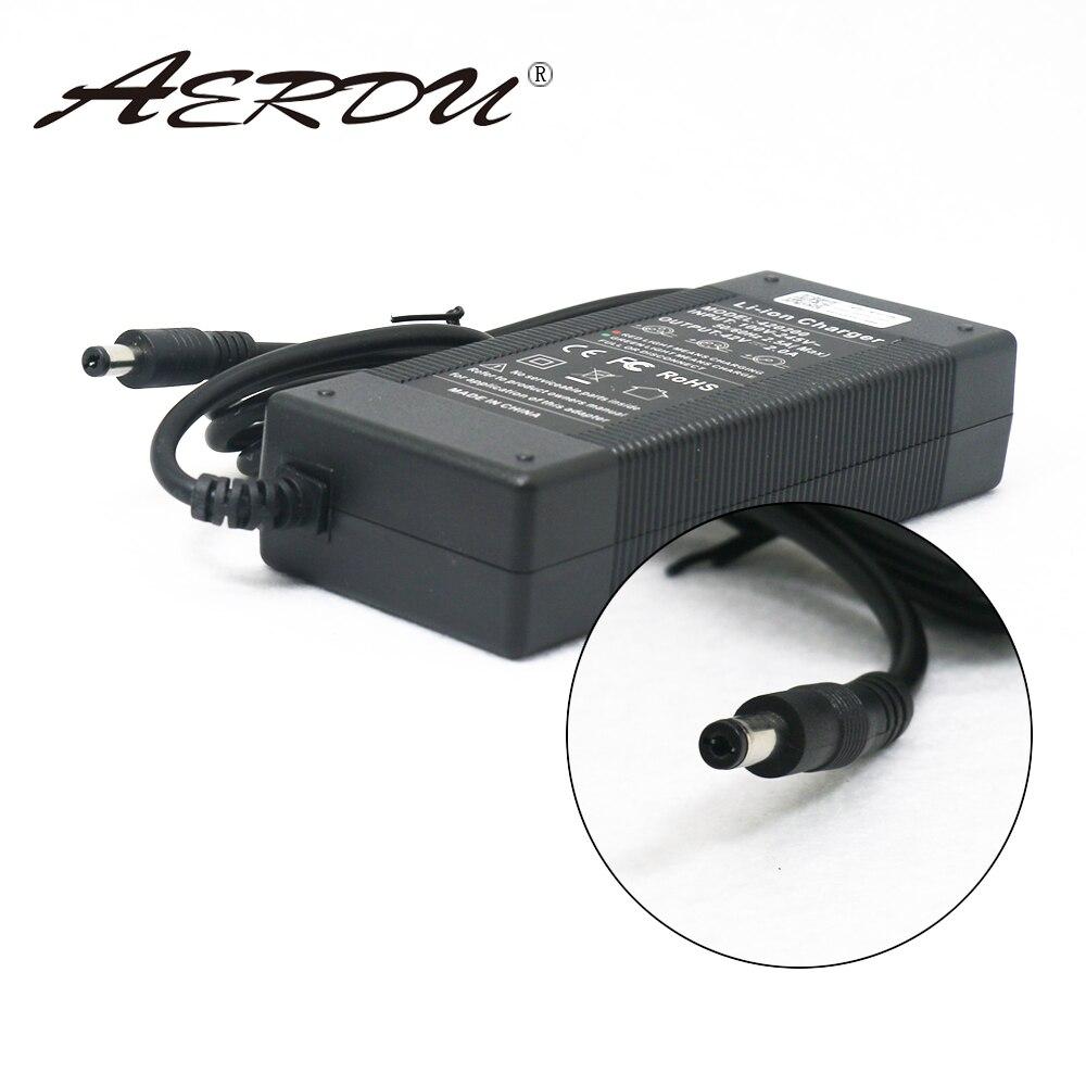 AERDU 10S 42V 2A 36V Lithium-ionen akku ladegerät Netzteil batterites AC 100- 240V Konverter Adapter EU/US/AU/UK DC stecker