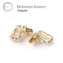 OEAudio – adaptateur pour écouteurs IEM, câble plaqué or CIEM MMCX 3.5mm PU CNC 3U
