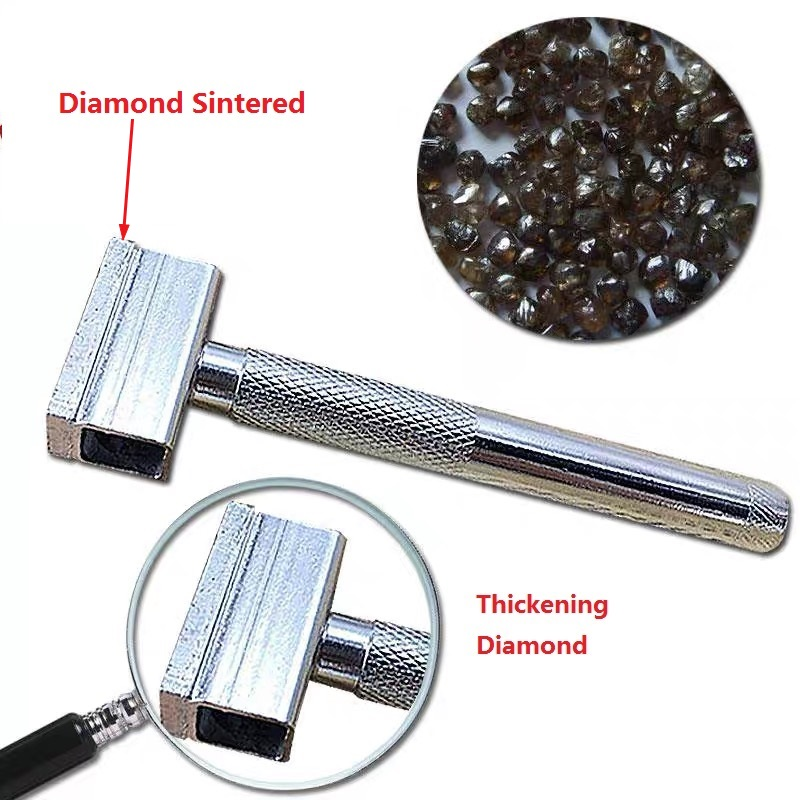 Sintered Diamond Grinding Disc Sharpening Dresser Wheel Stone Handle Head Tool Dressing Bench Pen Blade Abrasive Grinder Tools