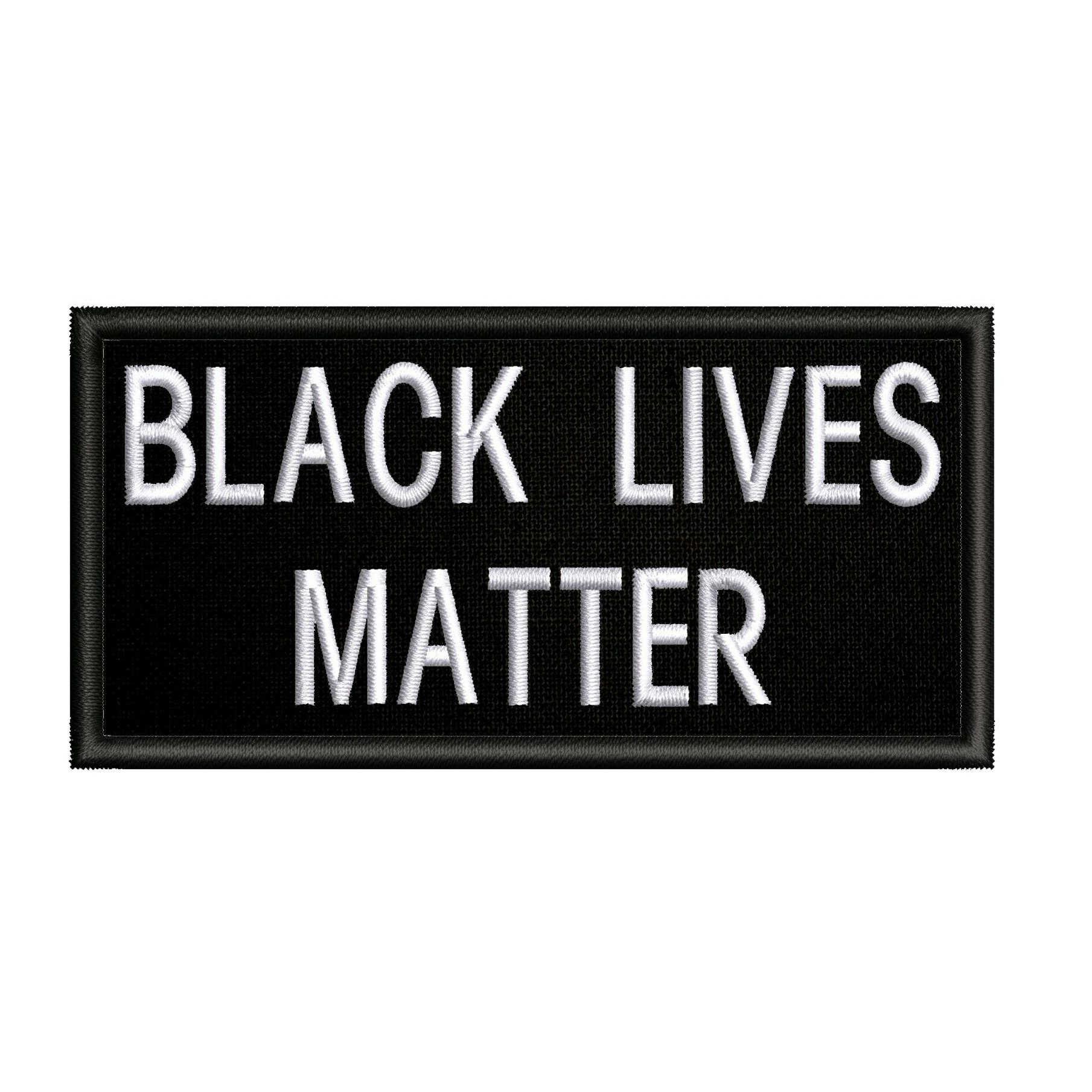 BLACKLIVESMATTER Black Lives Matter Movement Iron On Patch 1pc