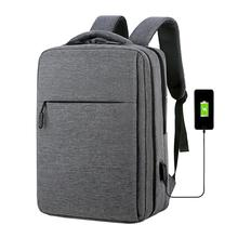 Anti Theft 17.3 Inch Backpack Men USB Charging Laptop Backpack School Bag Waterproof Travel Bag 15.6 School Backpacks For Teens unisex laptop backpacks anti theft bags for men s for women oxford usb composite for school trip for teens green shoulder bag