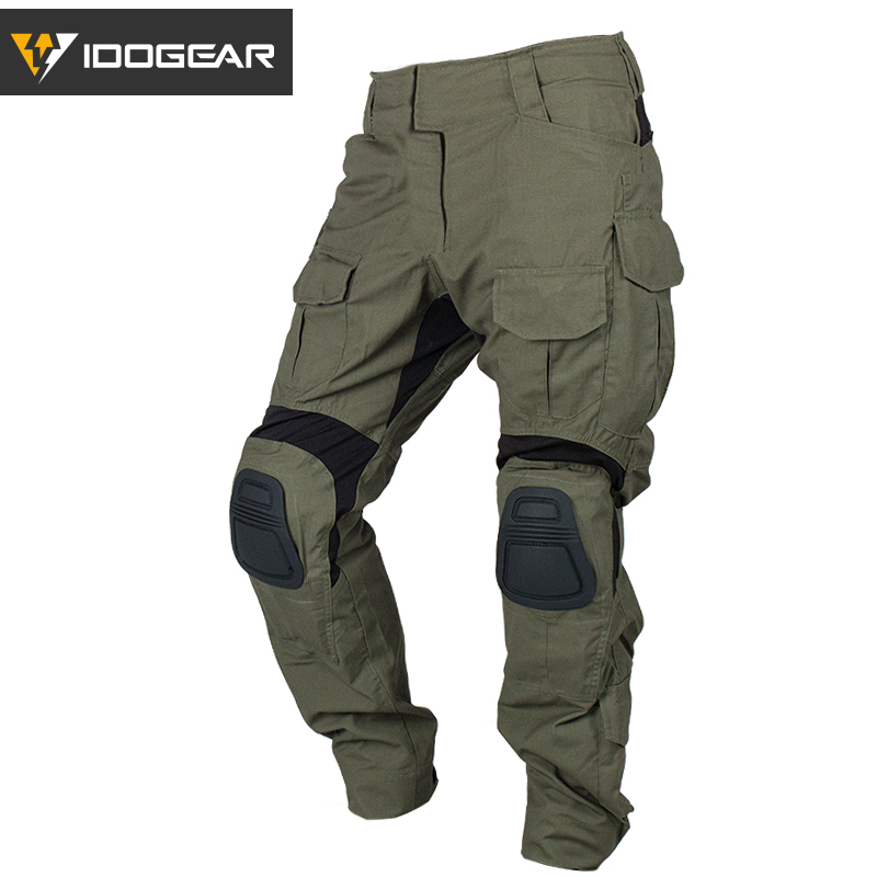 IDOGEAR Tactical G3 Pants Airsoft Combat Trousers Military Army Tactical Bdu Camouflage Pants Winter Sports 3205(China)