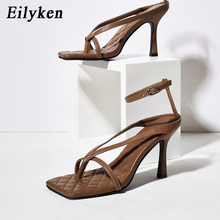 Eilyken 2020 Ankle Strap Women Sandals Summer Fashion Narrow Band Dress