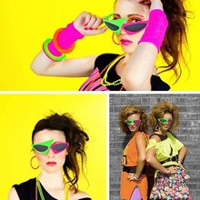 Party Glasses Hip Hop Music Festival Triangle Funny Asymmetric Glasses Suitable For Hip-hop Dance Halloween Party