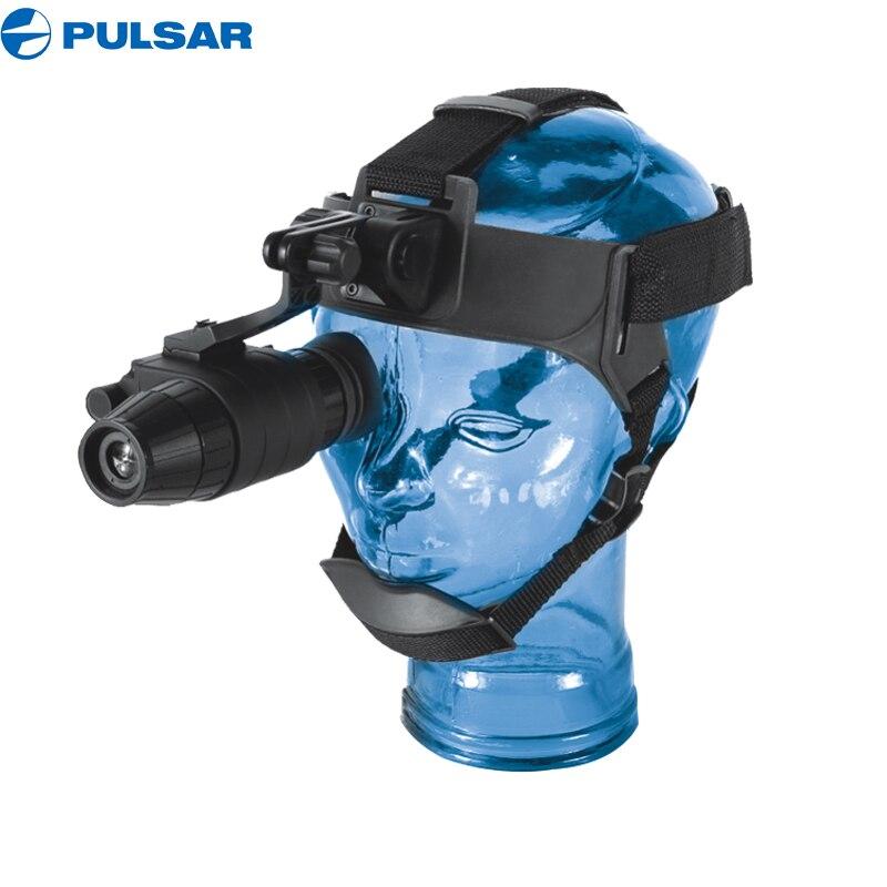 Pulsar Challenger GS 1X20 Монокуляры ночного видения цифровой ИК осветитель ночного видения крепление шлема для ночной охоты