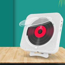 CD Player Portable Double-horn Wall-mounted Bluetooth Player Speaker For Early Education And Prenatal Remote Control Stereo Home