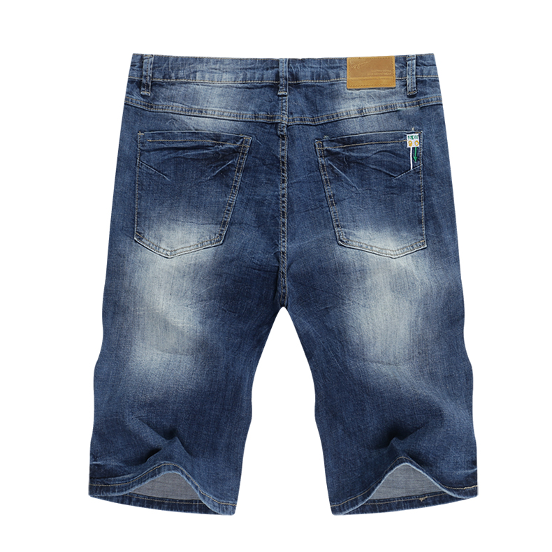 KSTUN 2020 Summer New Men's Stretch Short Jeans Blue Fashion Casual Slim Fit High Quality Denim Shorts Male Brand Clothes Pants 12
