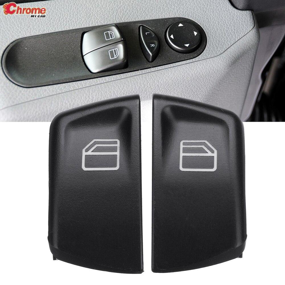 2x Electric Window Switch Button Control Cover For Mercedes-Benz Vito Viano W639 Sprinter W906 2005