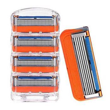 4Pcs/lot Men Razor Blades High Quality Shaving Cassettes Facial Care
