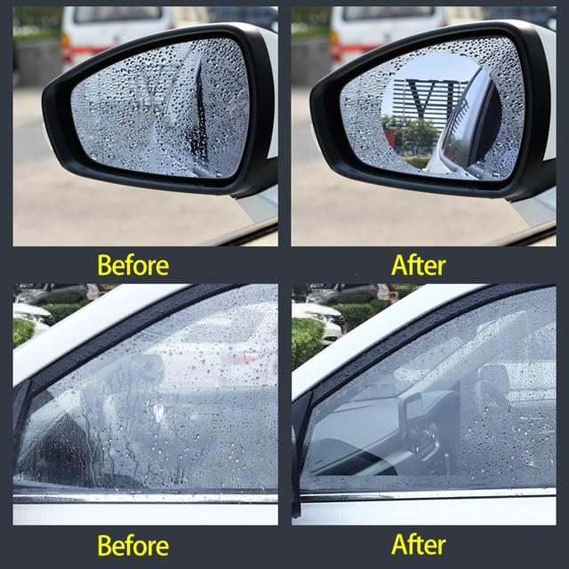 Car Rearview Mirror Protective Anti Fog Car Mirror Window Clear Film Film Waterproof Car Sticker 2